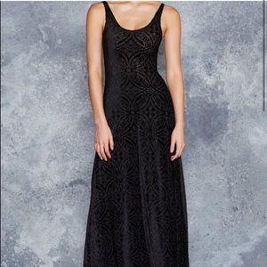 Blackmilk Burned Velvet Maxi Dress LIMITED